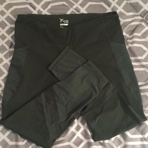 Fitted Old Navy Active leggings with sheer cutouts